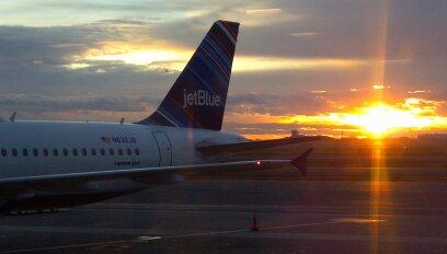 November sunrise; Boston, MA